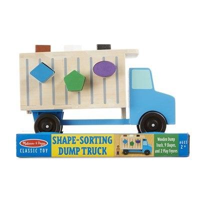 משאית אשפה התאמת צורות מליסה ודאג