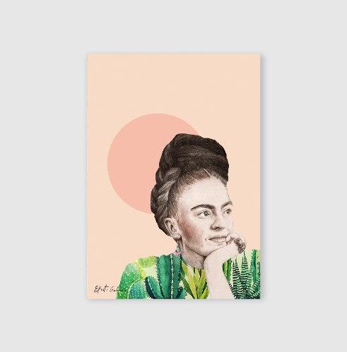 סט גלויות- פרידה קאלו