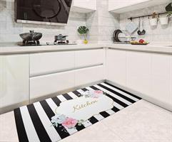 שטיח למטבח או לאמבטיה עשוי pvc  קל לניקוי ולייבוש