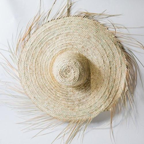כובע קש פראי S