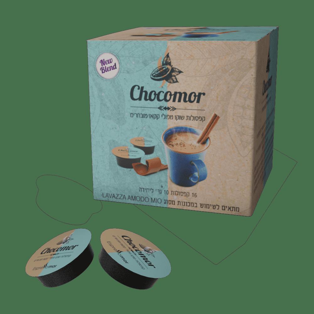 80 קפסולות שוקו - Chocomor