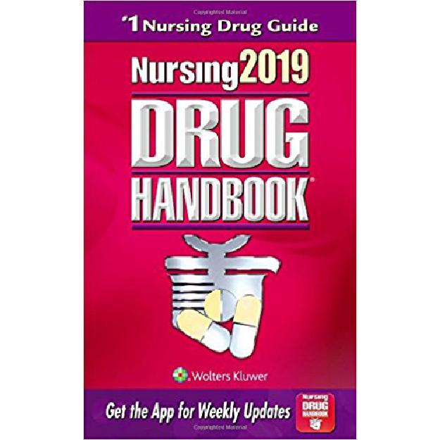 Nursing 2019 Drug Handbook עם קוד הנחה