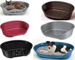 מיטת פלסטיק דלוקס לכלב מידה 2