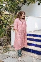 שמלה מדגם דניאלה - נוצות