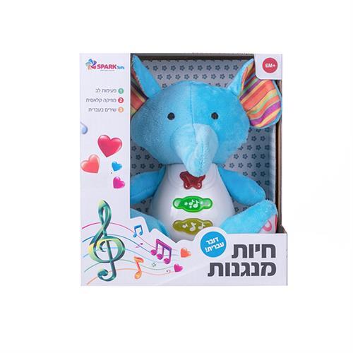 """""""חיות מנגנות-פיל דובר עברית"""""""