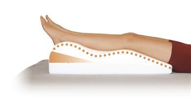 כרית ויסקו להרמת רגליים