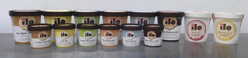 תמיכה בפרוייקט - מארז 5 גלידות ILO משובחות (וגם טבעוניות) במחיר היסטרי