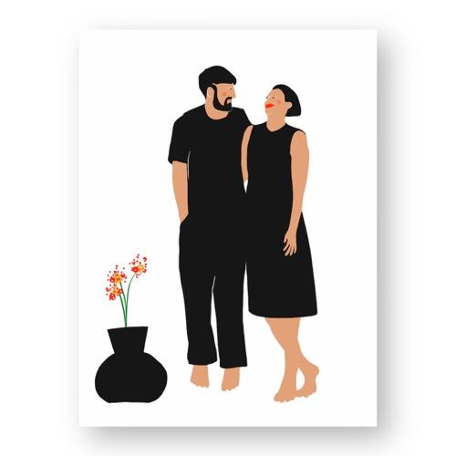 """זוג חולק רגע חמוד - מתוך """"החיים יפים"""", הסדרה האופטימית"""