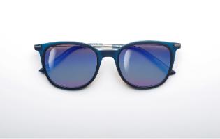משקפי היפרלייט (נגד קרינה) עם אפקט מראה דגם THE-0102GY, MRBU צבע כסף