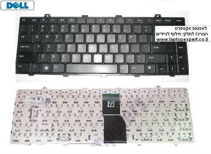 החלפת מקלדת למחשב נייד דל Dell Studio 1450 1457 1458 Laptop Keyboard 08RK69 , 8RK69 , NSK-DJA01, 9Z.N1K82.A01