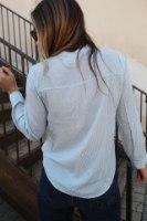 חולצת מכופתרת רונה שחורה