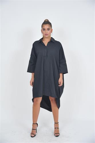 שמלת OVER SIZE שחורה