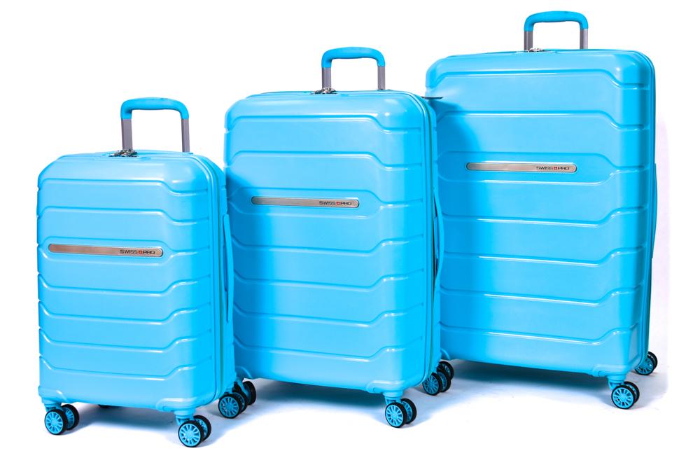 סט מזוודות סוויס פרו דגם סיאטל SWISS PRO