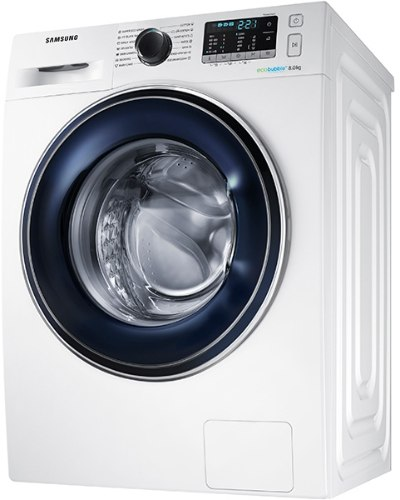 """מכונת כביסה פתח קידמי Samsung WW80J5345FW 8 ק""""ג סמסונג"""