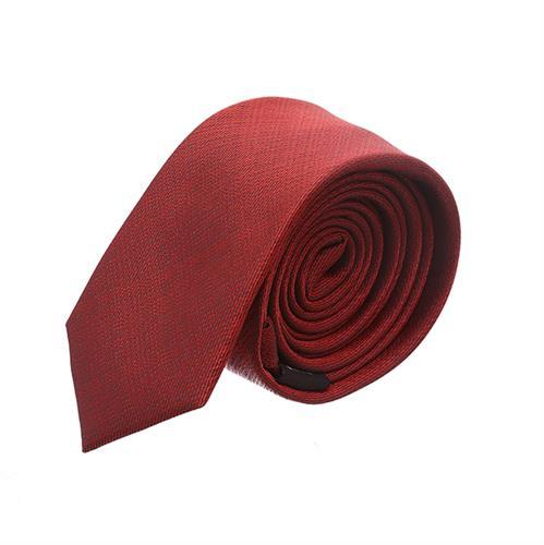 עניבה שתי וערב אדום בהיר