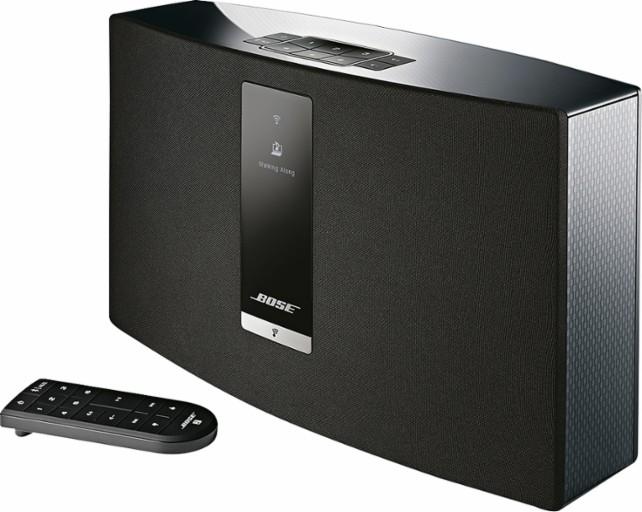 רמקול נייד Bose SoundTouch 20 Series III, רמקול רשת תומך WiFi & BLUETOOTH - לשליטה במוזיקה בכל הבית