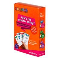 משחק רביעיות באנגלית gamelish | מדברים על מזג האוויר   ?How's the weather today
