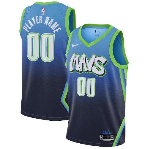 גופיית NBA דאלאס מאבריקס תכלת ירוק SWINGMAN