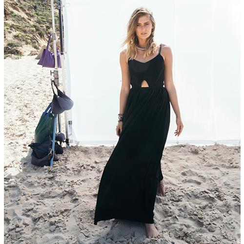 שמלת גריק שחורה