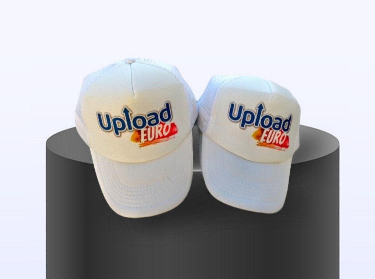 100 כובעי רשת מודפסים