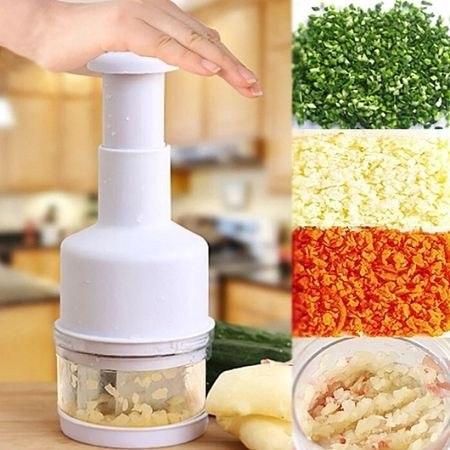 קוצץ וטוחן מזון בלחיצה - מתאים לכל סוגי המזון!