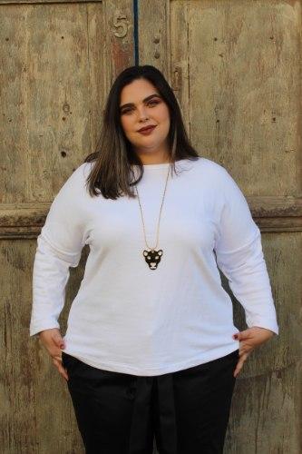 חולצת שנון לבן