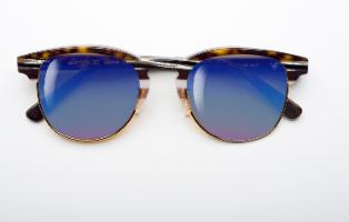 משקפי היפרלייט (נגד קרינה) דגם THE-0502BN חום עם אפקט המראה