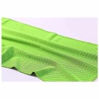 """מגבת ספורט מיקרופייבר גדולה 100x30ס""""מ  FIT CURCUIT- צבע ירוק"""
