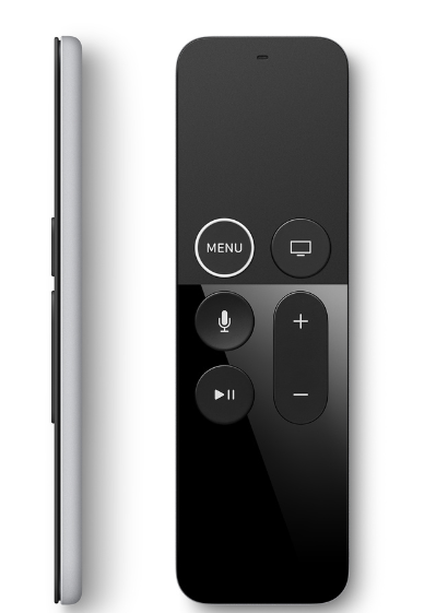 שלט Apple TV דור רביעי MQGE2ZM/A יבואן רשמי
