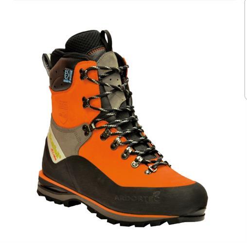 נעלי בטיחות מוגנות חיתוך Arbortec כתום