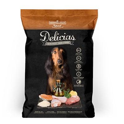 דלישס חטיפי אילוף רכים לכלב 1.5 קג