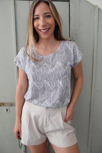 חולצת גולדי לבנה