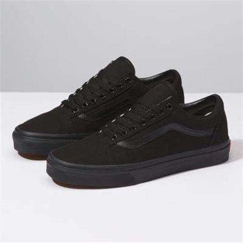 נעלי גברים ואנס ווארד צבע שחור/שחור
