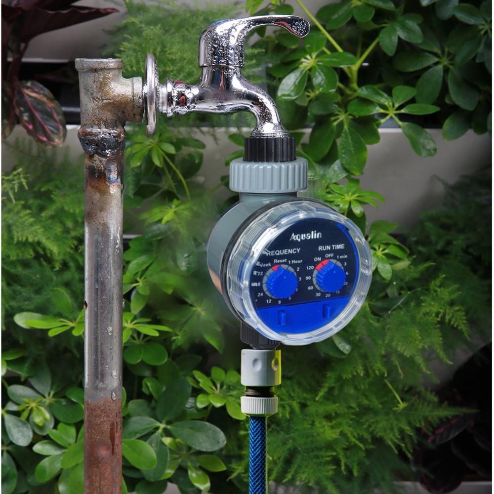 טיימר השקיה אלקטרוני לגינה  ברז כדור דגם  21025