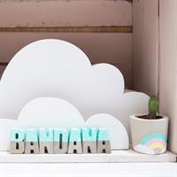 מדף ענן דקורטיבי לספר שאוהבים