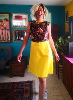 שמלת וינטג' מיוחדת במיוחד מידה XL