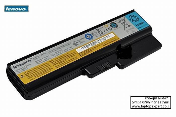 **הזול בישראל** סוללה מקורית 6 תאים למחשב נייד Lenovo N500 G430 G450 G530
