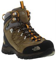 נעלי הרים גברים  חום צהוב The North Face דגם Verbera Men GTX