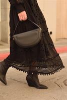 שמלת סיטי שחורה