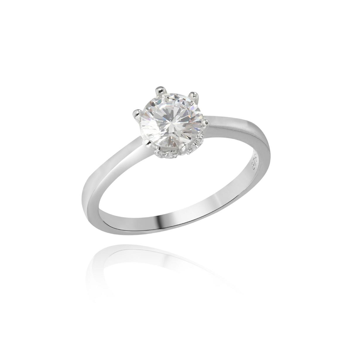 טבעת EMILY מכסף 925