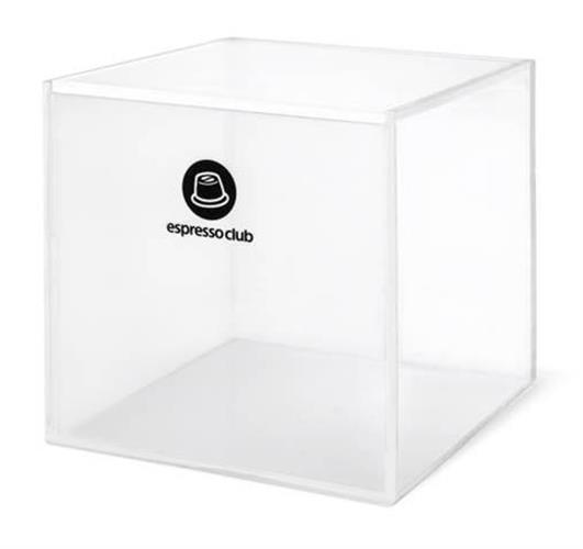 קופסת קפסולות אקרילית לאחסון