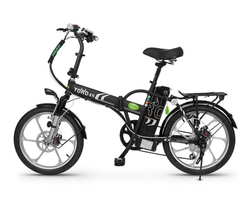 אופניים חשמליים גרין בייק GRENBIKE TORO HYBRID 48