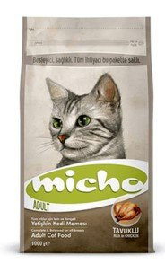 "MICHO אוכל לחתולים בטעם עוף 3 ק""ג"