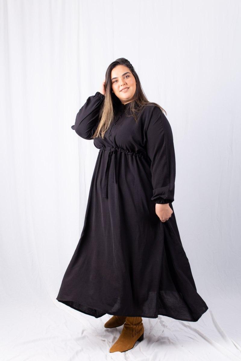 שמלת לולה שחור