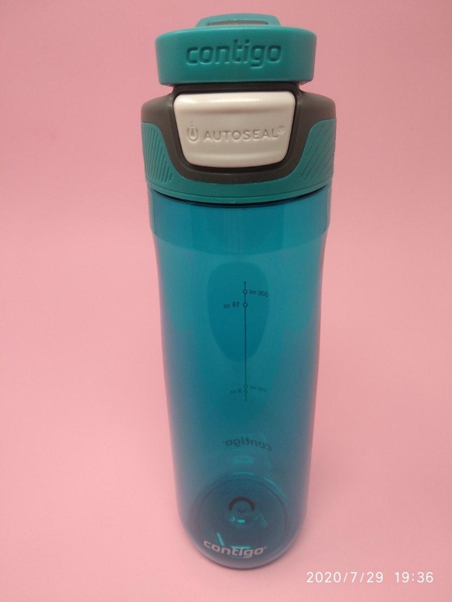 בקבוק שתיה בצבע כחול Contigo AUTOSEAL® Chug 720ml