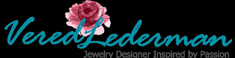 עגילים תלויים -  BOHOTANIC Vered Lederman Designs  תכשיטים חנות עודפי ייצוא