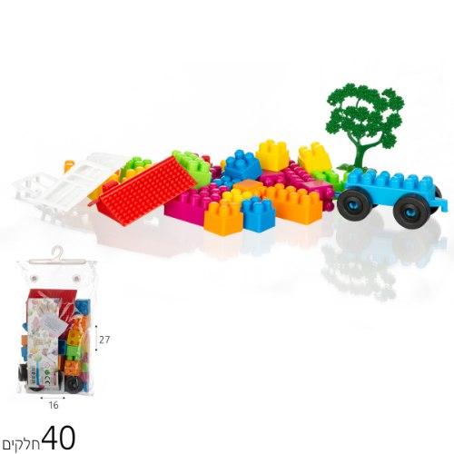 קוביות הרכבה 40 חלקים