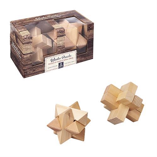 מארז 2 משחקי חשיבה מעץ