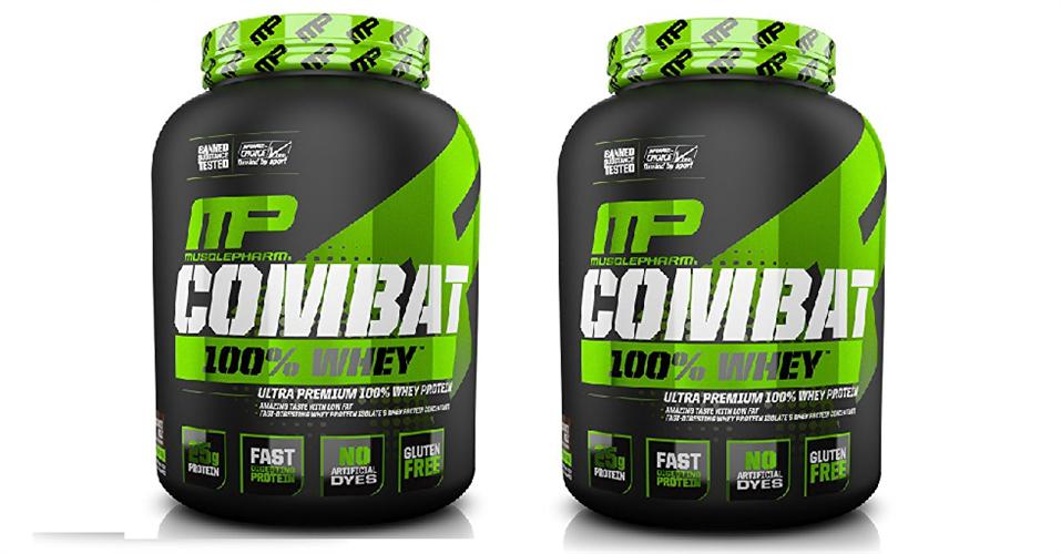 100% אבקת חלבון מאסל פארם קומבט | Combat 100% Whey במבצע זוגי