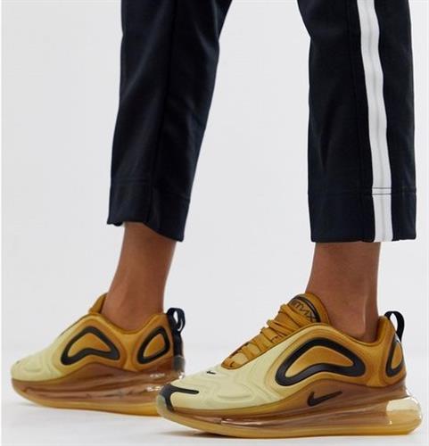 נעלי נשים נייק אייר מקס 720 צבע זהב/שחור דגם AR9293 700